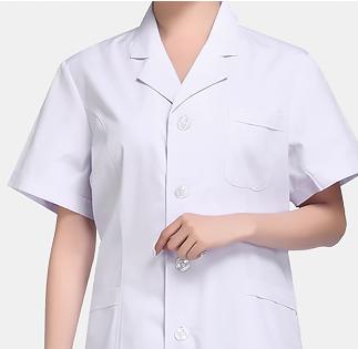 短袖 女款 白大褂/实验服