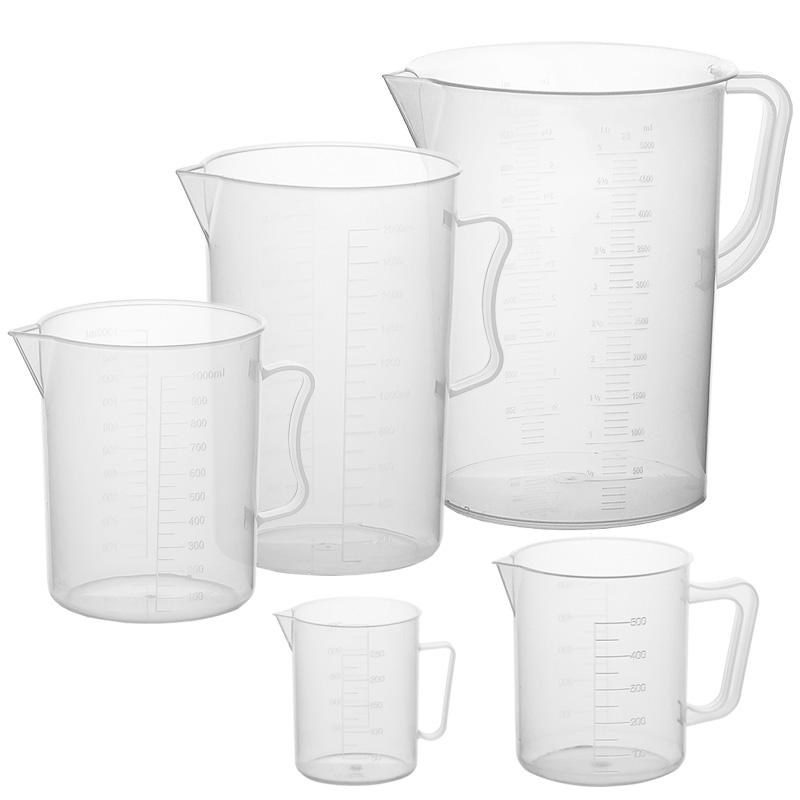 (JQ)PP 塑料量杯 带把手