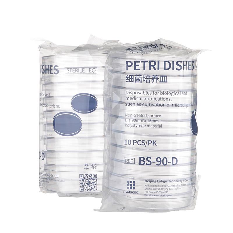 (ST82303-1090)PS塑料细菌培养皿 环氧乙烷灭菌
