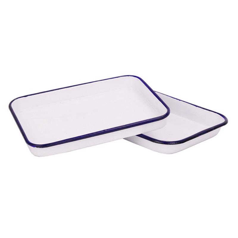 (白鹅)搪瓷方盘/消毒盘
